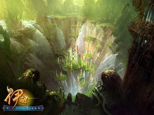 电影级画面 《伊甸》首次公布秘境概念图_网络游戏_.图片