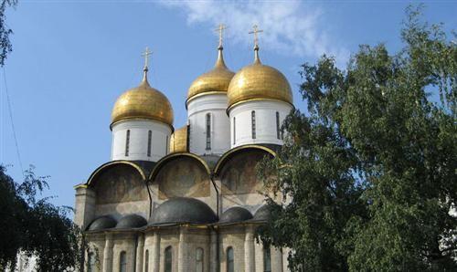 克里姆林宫大教堂图片
