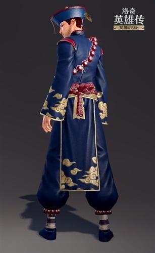 清朝官服下摆的花纹图片