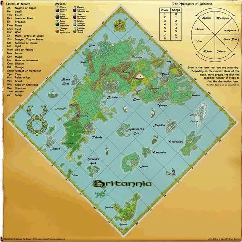 大不列颠总地图 大不列颠航海图;