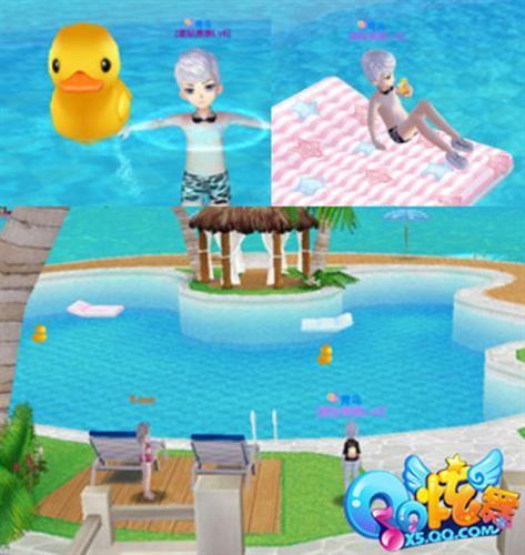 炫舞 欧式水池图片