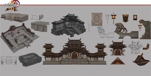 """机关武装城墙 剑网3""""血战天策""""秘境设计曝光_网络游戏"""