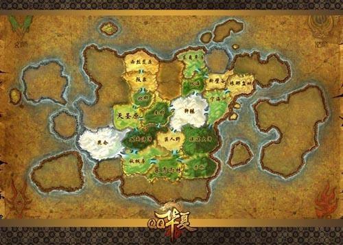 中国地图轮廓 中国地图素材