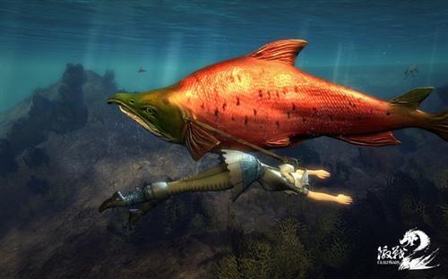 水底生物变异 《激战2》水世界环览