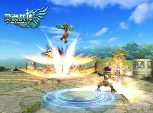 ...战神》将会给玩家带来前所未有的PK体验!   《灵魂战神》游...