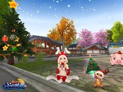 ...圣诞老人在雪地上疾驰,一年一度的圣诞节便到来了,过圣诞节当...