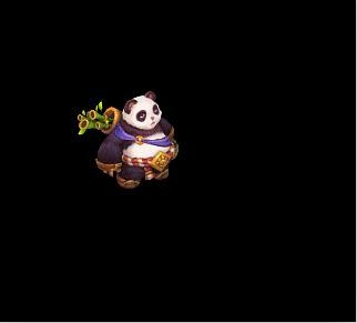 《神武》可爱的神兽大熊猫-神武 圣诞活动来袭 点燃冰雪狂欢季