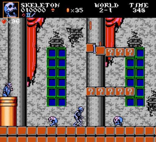 《超级玛利欧大穿越》经典电玩人物集结~改了版再上