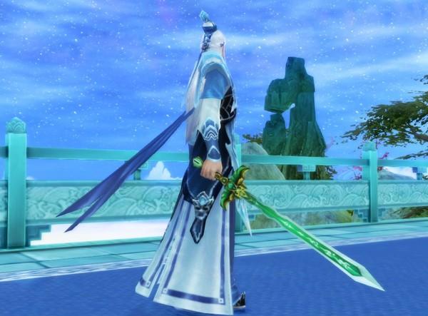倩女幽魂2 男女医生佩戴木剑外观展示