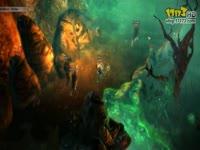 大型3D免费页游《龙歌OL》震撼视觉效果