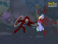 火柴人经典动画第三弹:扭曲丛林的生死一战