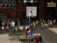 《自由篮球》精英邀请赛A组首轮十佳镜