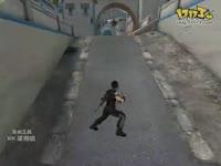 逆战海滨小镇玩家AWP第三视角蹲坑定点狙击