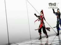 天策唐门红蓝舞蹈 剑网3MMD《GLIDE》