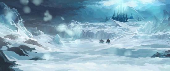 愿记忆中永远飘荡着诺森德的雪