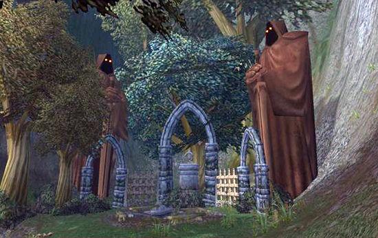 暮色森林的乞丐鬼屋 艾泽拉斯大冒险 魔兽世界中不为人知...