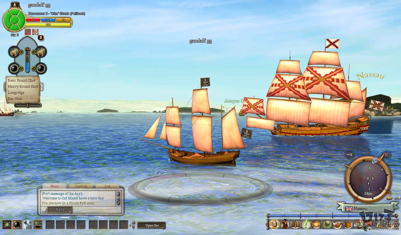 再现加勒比历史!《燃烧海洋上的海盗》试玩