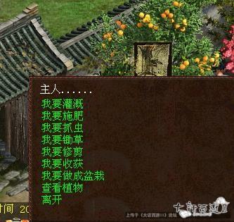 《大话西游Ⅱ》盆栽玩法介绍