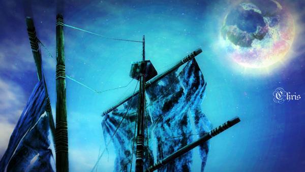 永恒风景美图 魅惑幽灵海盗船另类体验