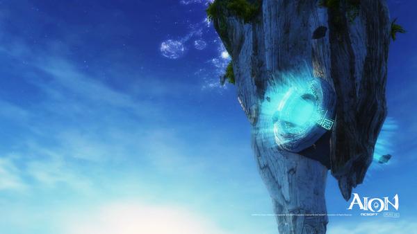 永恒好风景 玩家自制天族主城高清壁纸--永恒之塔---.