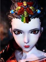 剑灵龙女捏脸数据 高冷御姐红色诱惑