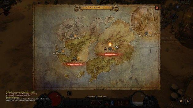暗黑破坏神3地图