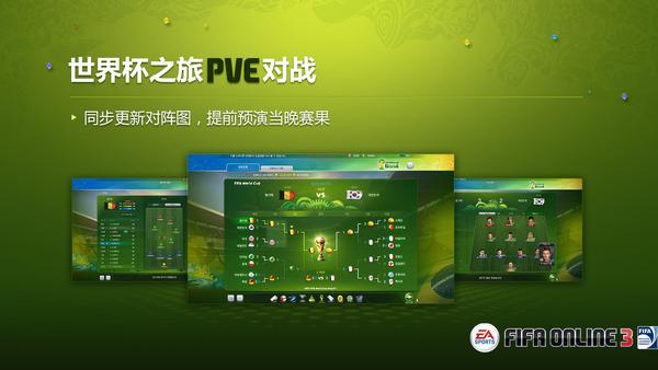 FIFAOL3世界杯模式前瞻 世界杯之旅玩法解读