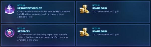 《风暴英雄》等级系统及奖励