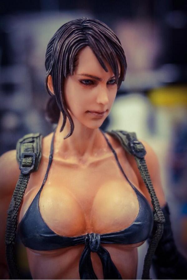 大全展示《合金装备5》女狙超图片手办性感真实胸部女生小岛性感图片
