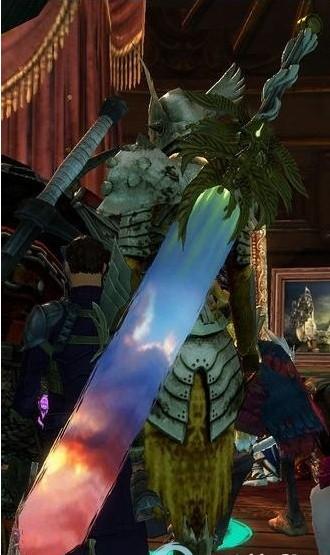 激战2传奇巨剑辰光制作 传奇大剑辰光材料