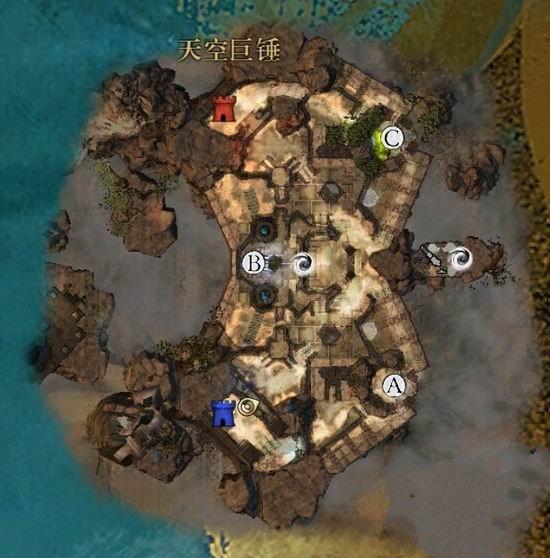 天空巨锤地图