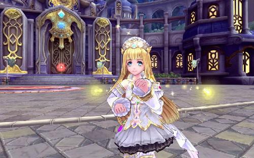 纯洁的白色洋装小公主 喵~