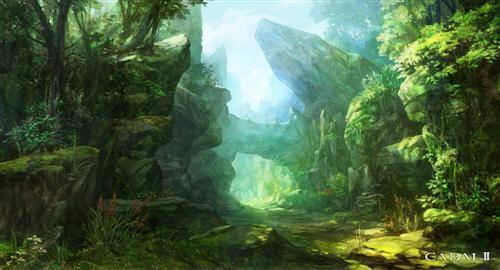 森林游戏场景图片展示