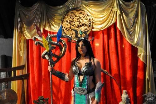 神之浩劫,cosplay,比赛,美国,腾讯最新图片