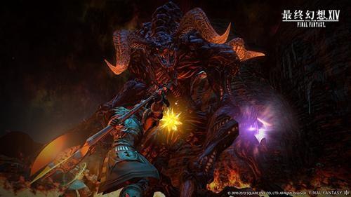 《最终幻想14》即时战斗 打怪副