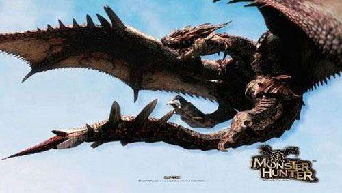动作游戏的起点 初代《怪物猎人》超强打击感