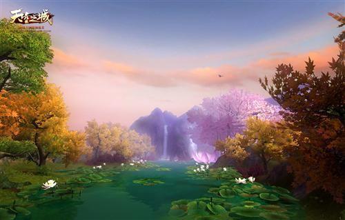 晴昼四季 《天空之城》营造真实仙界