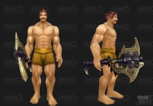 德拉/WOW德拉诺之王武器模型抢鲜:单手斧