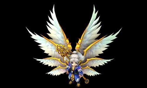 翅膀系统重磅来袭    仙族翅膀原画,设计灵感来源于西方六翼天使,主要