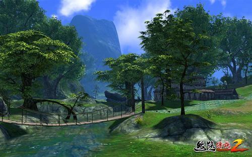 无缝拼接 《丝路传说2》的传说级景观