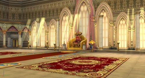欧式皇宫虚幻背景
