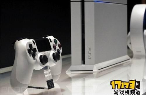 索尼e3 2014发布冰川白ps4 真机高清图赏