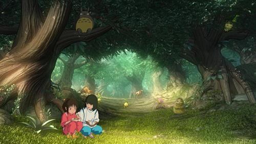 仿佛这就是从宫崎骏动画中截取的图片一般,让小编不禁期待《幻想神域