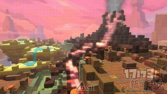 【17173专稿,转载请注明出处】 28日,韩国NEXON公司召开了《冒险岛2》的说明会,会上对游戏的开发方向和游戏方式进行了进一步的说明,并公布了一系列的原画和游戏截图,多达63张。 《冒险岛2》采用了3D制作,地图风格类似《我的世界》,核心玩法为玩家自定义,从视频上判断,该作的战斗方式和传统MMORPG一样。《冒险岛2》地图是由积木块(Block)构成的积木型地图,因此玩家可以像玩积木那样,将原有地图的积木块抽出来,或添加新的积木块,地图中的电线杆、树等也可以抽出来当武器。 在游戏中