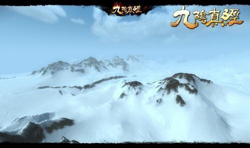 侠客行中,8倍于先前的游戏地图将来更广袤的江湖世界