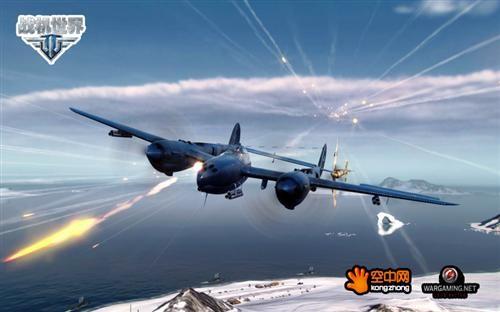 """《战机世界》再现《1942》""""p-38闪电"""""""