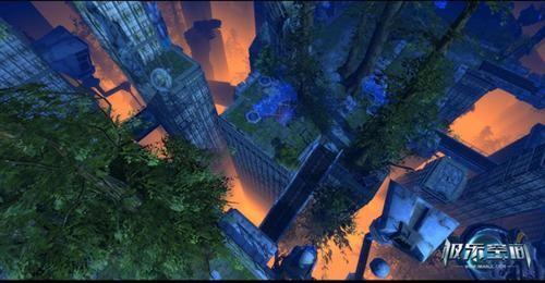 《极乐空间》全新主城登场 科幻城市新感受