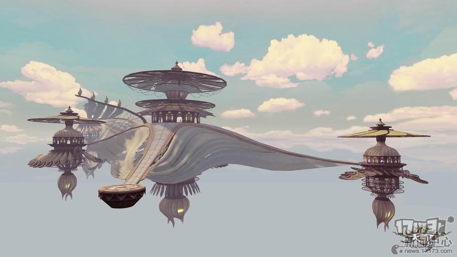 流霞殿:位于浮云狐宫上方空中的狐族宫殿.