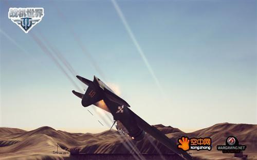 北非沙漠战场的零式战斗机