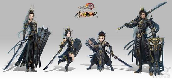 剑网3_苍雪龙城今日发布 《剑网3》新门派四体型首曝